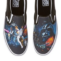 Vans Unisex Classic Slip-On? X Star Wars? (Star Wars) A New Hope Men's 4.5, Women's 6 Medium