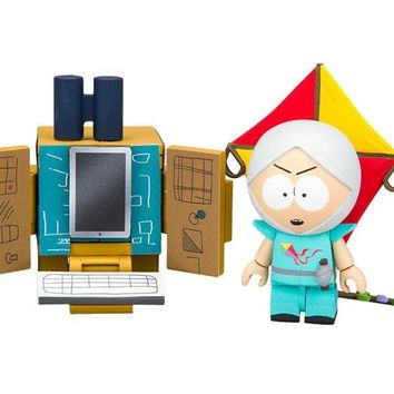 "South Park ""The Human Kite"" Kyle With Supercomputer Micro Construction Set"