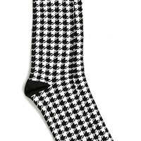 Men's Topman Houndstooth Socks