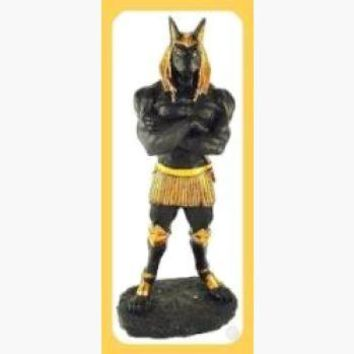 """Opener of the Way"" Proud Anubis Statue"