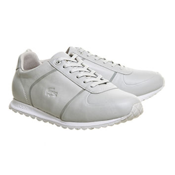 Lacoste Adagel Runner (w) Light Grey Off White - Hers trainers