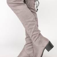 Simply Suede Boot - Grey