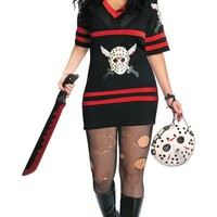Adult Plus Size Miss Voorhees Costume- Party City