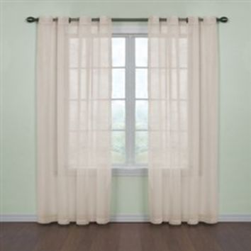 Fresh Scent College Curtains - Ivory Dorm Decor Refined Cool Stuff Smell Girls