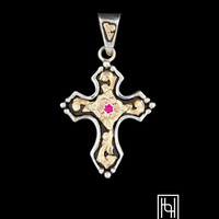 Confirmation Cross Pendant - Hyo Silver