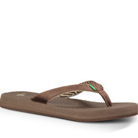 Sanuk Yoga Mat Primo Chocolate Sandals