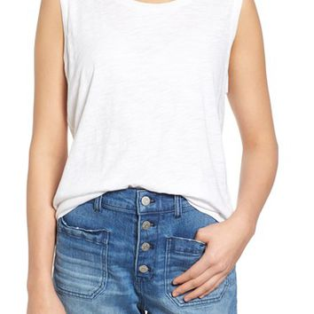 Madewell 'Whisper' Cotton Muscle Tank | Nordstrom