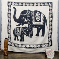 Hippie Elephant Tapestry, Indian Tapestries, Bohemian Tapestries, Tapestry Wall Hanging, Wall Tapestries, Boho Bed Coverlet, Dorm Decor Art
