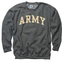 Army Black Knights Dark Heather Arch Crewneck Sweatshirt