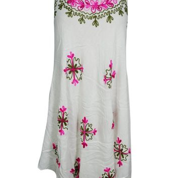 FLORAL Caftan Tank Dress COVER UP