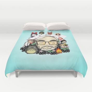Shop Totoro Bed Covers On Wanelo