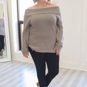 Anything For You Sweater + Grey