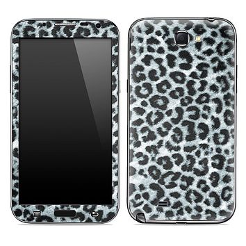 Real Black & White Leopard Animal Print Skin for the Samsung Galaxy Note 1 or 2