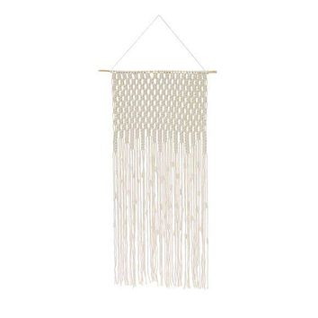 """SOUL OF THE PARTY 40"""" MACRAME WALL HANGING"""