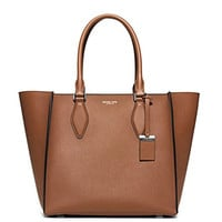 Michael Kors Women's New Fashion Collection Gracie Large Leather Tote