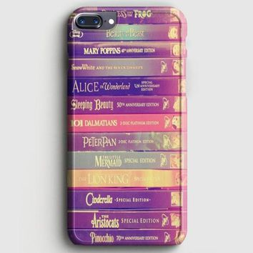 All Of Books Disney And Friends iPhone 8 Plus Case | casescraft