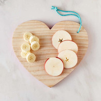 Heart Cutting Board - Urban Outfitters