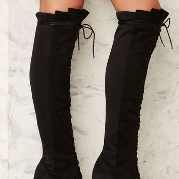 Spellbound Lace-Up Boot