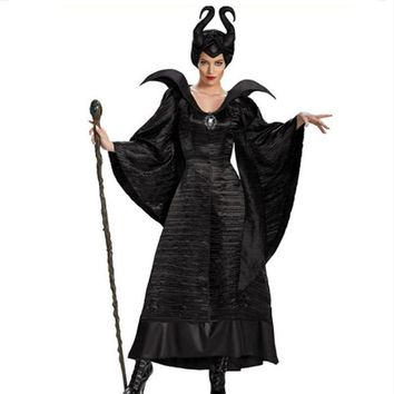 Women's New Design Costumes Dark Queen Maleficent - Performance & Stage wear