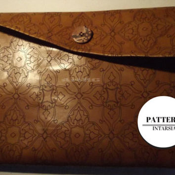 Instant download Pdf pattern, diy, make a clutch, purse, bag, hand, handmade, leather, faux leather, fashion, summer, fresh, youngh