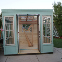 Arts Studio, Shed, or Greenhouse, vintage storefront design