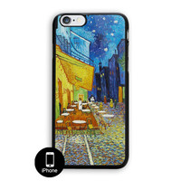 The Cafe Terrace At Night Vincent Vangogh Van Gogh iPhone 5, 5S Case