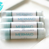 Posh Tangerine ~ Mermaid ~ Lipbalm
