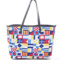 Nautical Signal Large Tote