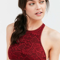 Out From Under Katia Lace High Neck Bra - Urban Outfitters