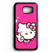 Hello Kitty Girl Samsung galaxy S6 Case