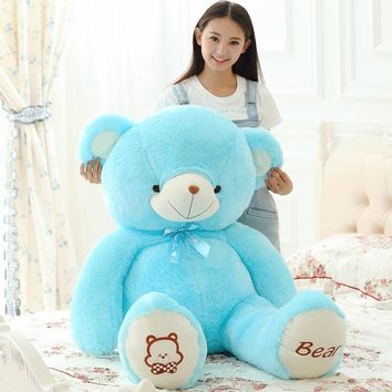Teddy Bear With Tie PP Cotton Stuffed High Quality Plush Bears Toys Valentine's Day Present 4 Colors