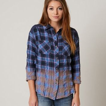 MISS ME PLAID SHIRT
