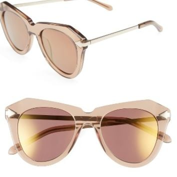 Karen Walker One Star 50mm Retro Sunglasses | Nordstrom
