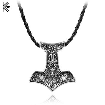 New 21 Style Vikng Necklace All kinds thor's hammer mjolnir pendant Necklaces viking scandinavian Norse viking Jewelry Men gift