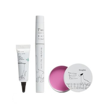 Too Cool for School Dinoplatz Makeup Essential Eye Shadow, Mascara & Lip Balm Set | Nordstrom