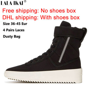 FREE SHIPPING Fear of God Shoes Owen Winter Shoes Men Justin Bieber Brand Men Boots FOG Boots Men High Street Boots XMG0188-5