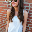 On Point Hi-Low {Cream Tank}