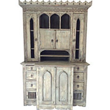One Kings Lane - Vintage Labor Day Blowout - 1920s   Gothic-Style Cabinet