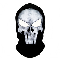 winter Punisher mask balaclava beanies hats men ghost skul full face ski mask sport training hood beanie,gorros hombre casquette