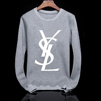 Boys & Men YSL Fashion Casual Top Sweater Pullover