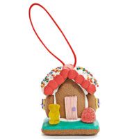 Dylan's Candy Bar - Mini Gingerbread House Ornament | Dylan's Candy Bar