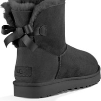 UGG® Mini Bailey Bow II Genuine Shearling Bootie (Women) | Nordstrom