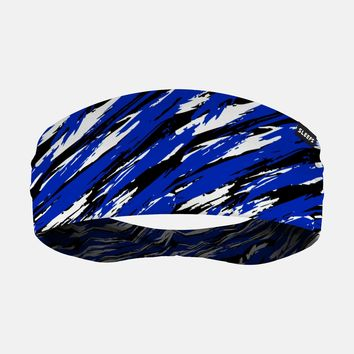Tryton Blue Black White Headband