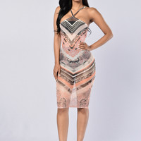 Blossomy Dress - Grey