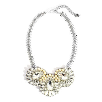 Ela Design Studio Cecily Silver Necklace