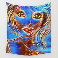 Color Me Beautiful Wall Tapestry by Zurine