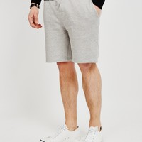 The Idle Man Sweat Shorts Grey
