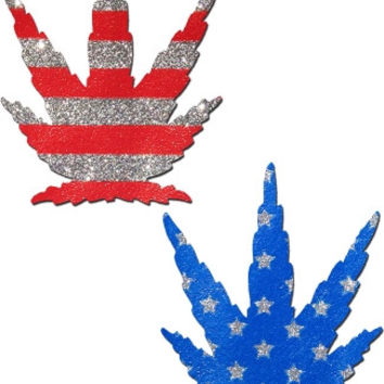 Patriotic Leaf Pasties