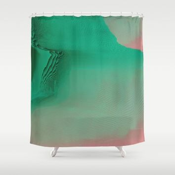The Valley Shower Curtain by Ducky B