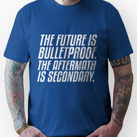 The Future is Bulletproof Unisex T-Shirt